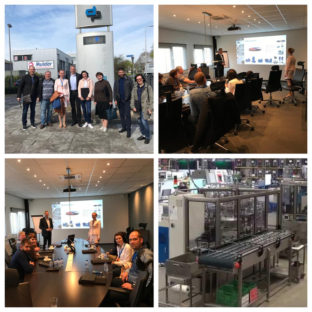Посещение завода DP-Pumps. Производство и технический тренинг от инженеров DP-Pumps.