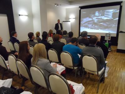 Участниками семинара стали 35 специалистов из проектных, монтажных и строительных организаций на семинаре по насосному оборудованию DP-PUMPS.