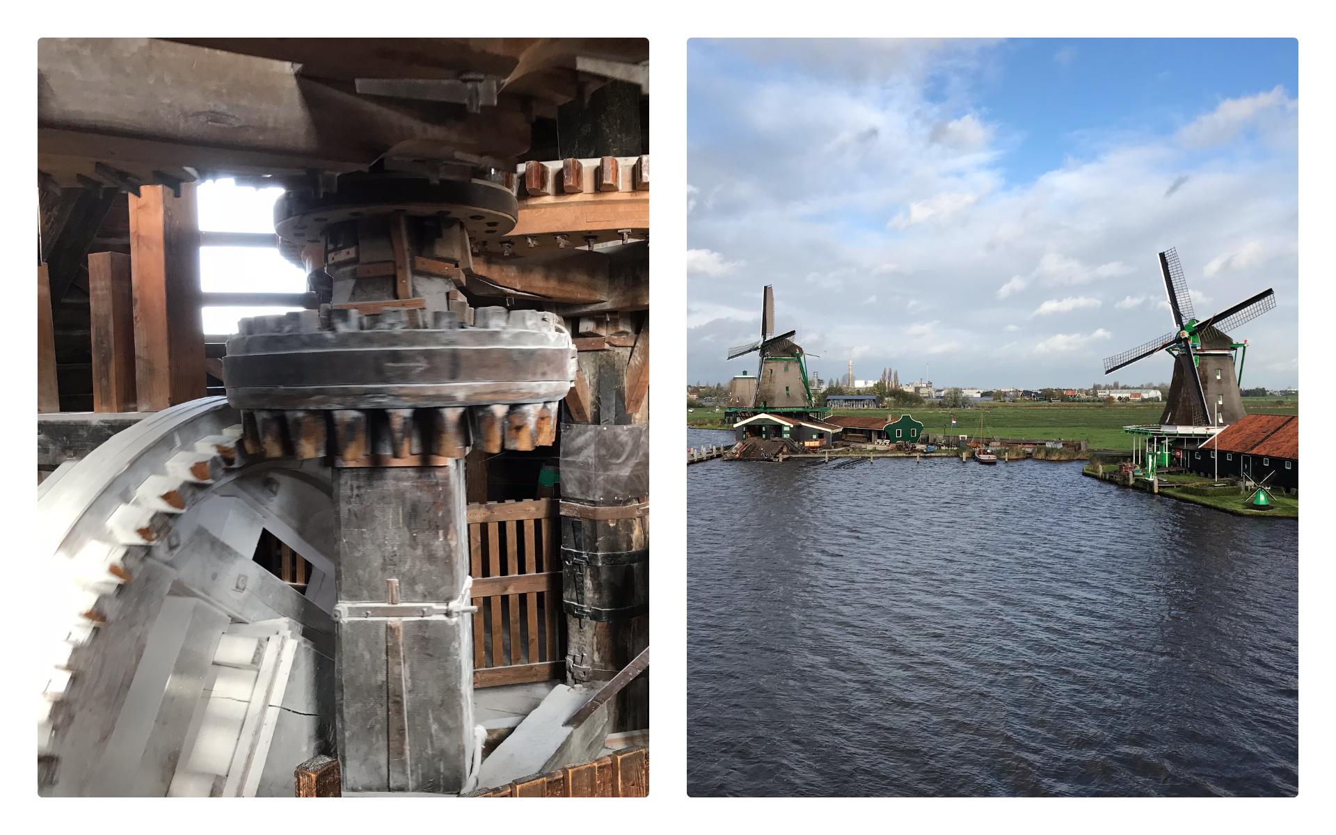Поездка в аутентичную голландскую деревню с посещением мельницы для гостей завода DP Pumps