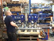 фото с производственной линии dp-pumps