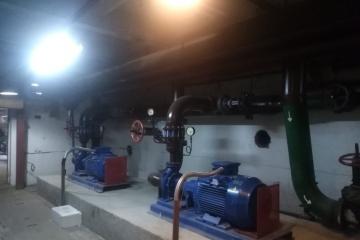 Поставка 2-х консольных насосов EBARA GS2 100-250-250/b/75 и шкафа управления с техникой ABB