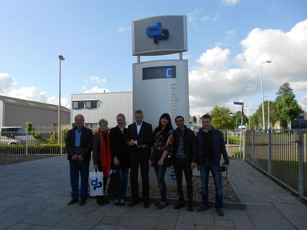 посещение завода насосного оборудования группой проектировщиков и представителей украинских строительных компаний