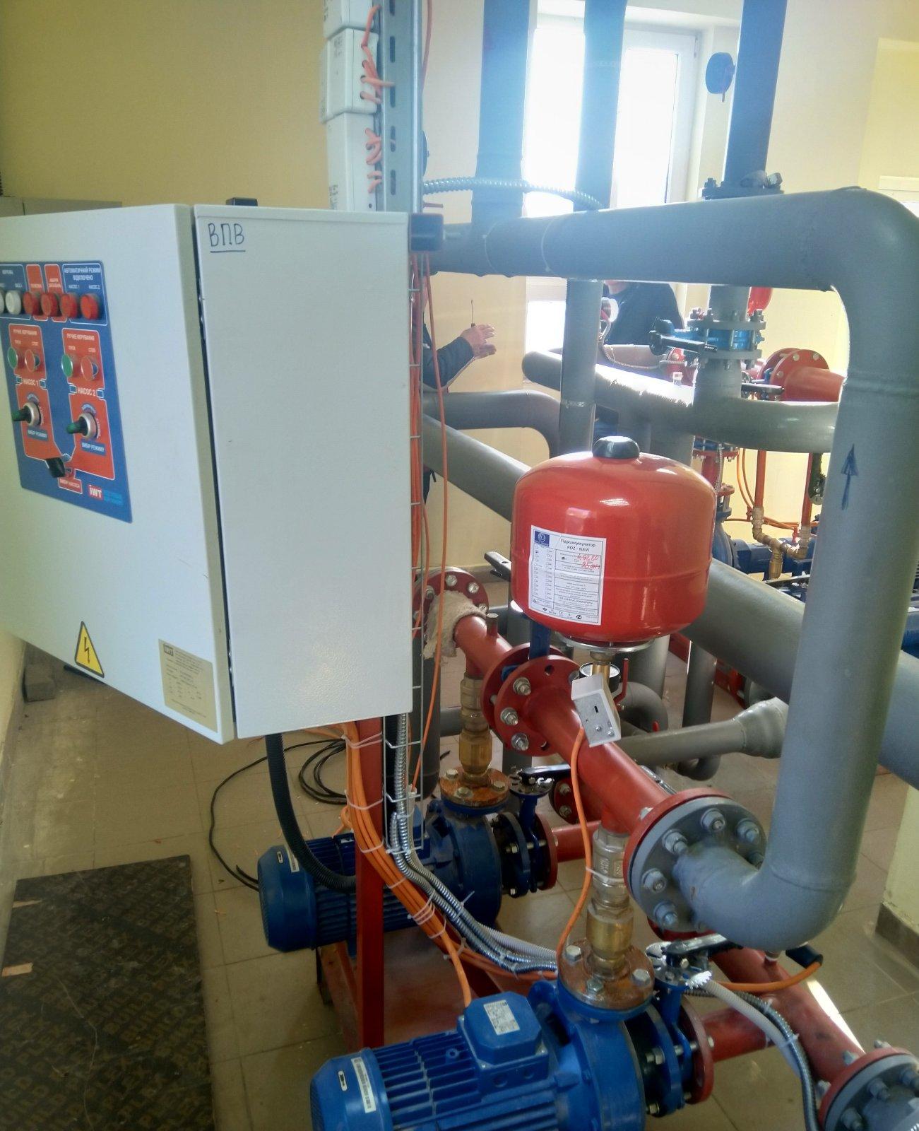 Насосная станция производства IWT для нужд пожаротушения на объекте