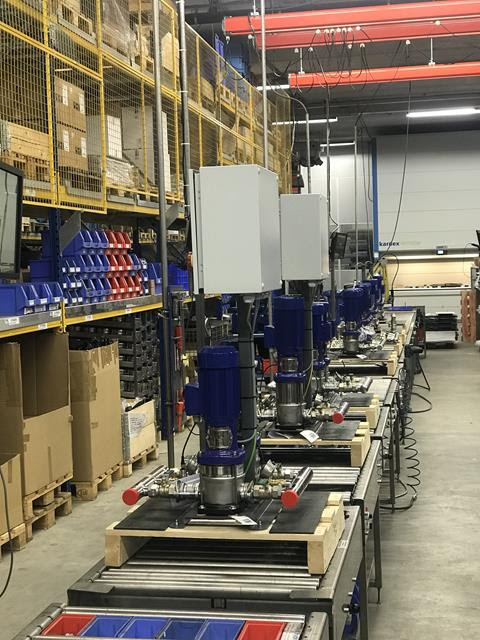 Завод Dp-Pumps не останавливает производство насосов DP-pumps на период пандемии 2019