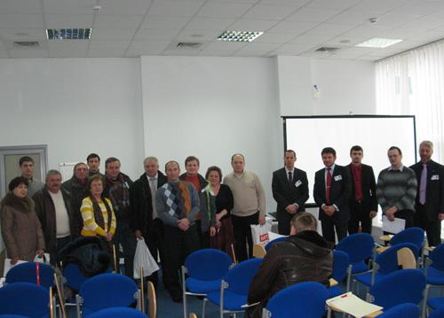 Участники Семинара по отопительному оборудованию Rendamax