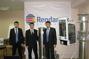 Специалисты IWT на семинаре Rendamax BV