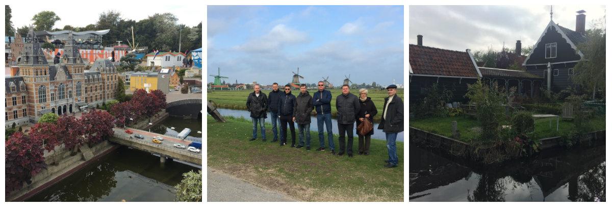 После насыщенного тренинга, голландские партнеры подготовили для наших участников насыщенную культурную программу (Мадуродам, Гаага, Заансе Сханс, Амстердам и т.д.)