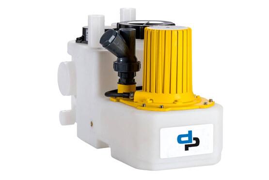 Широкий диапазон канализационных станций принудительного отвода серии FEKA-UNIT С дополнен установкой с наименьшими габаритными размерами.