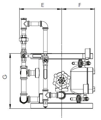 Схема 2 водосигнального клапана 8''