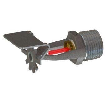 Ороситель стандартного реагирования горизонтальный настенный, модель RD060