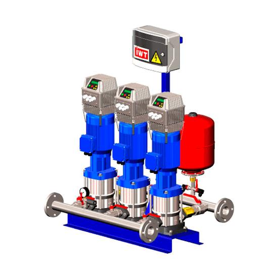 Насосная станция водоснабжения HYDRO-SET DPV +NASTEC