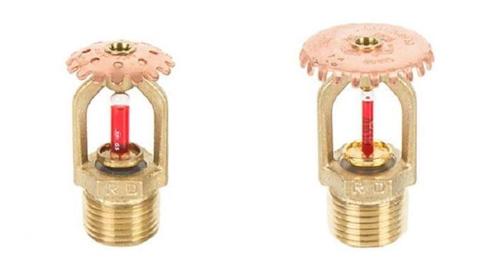 спринклеры rapidrop с колбами разного диаметра